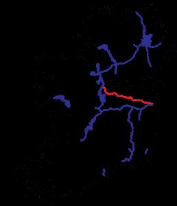 Royal Canal Karte